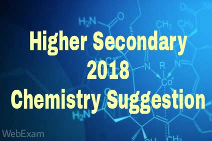 HS 2018 Chemistry Suggestion