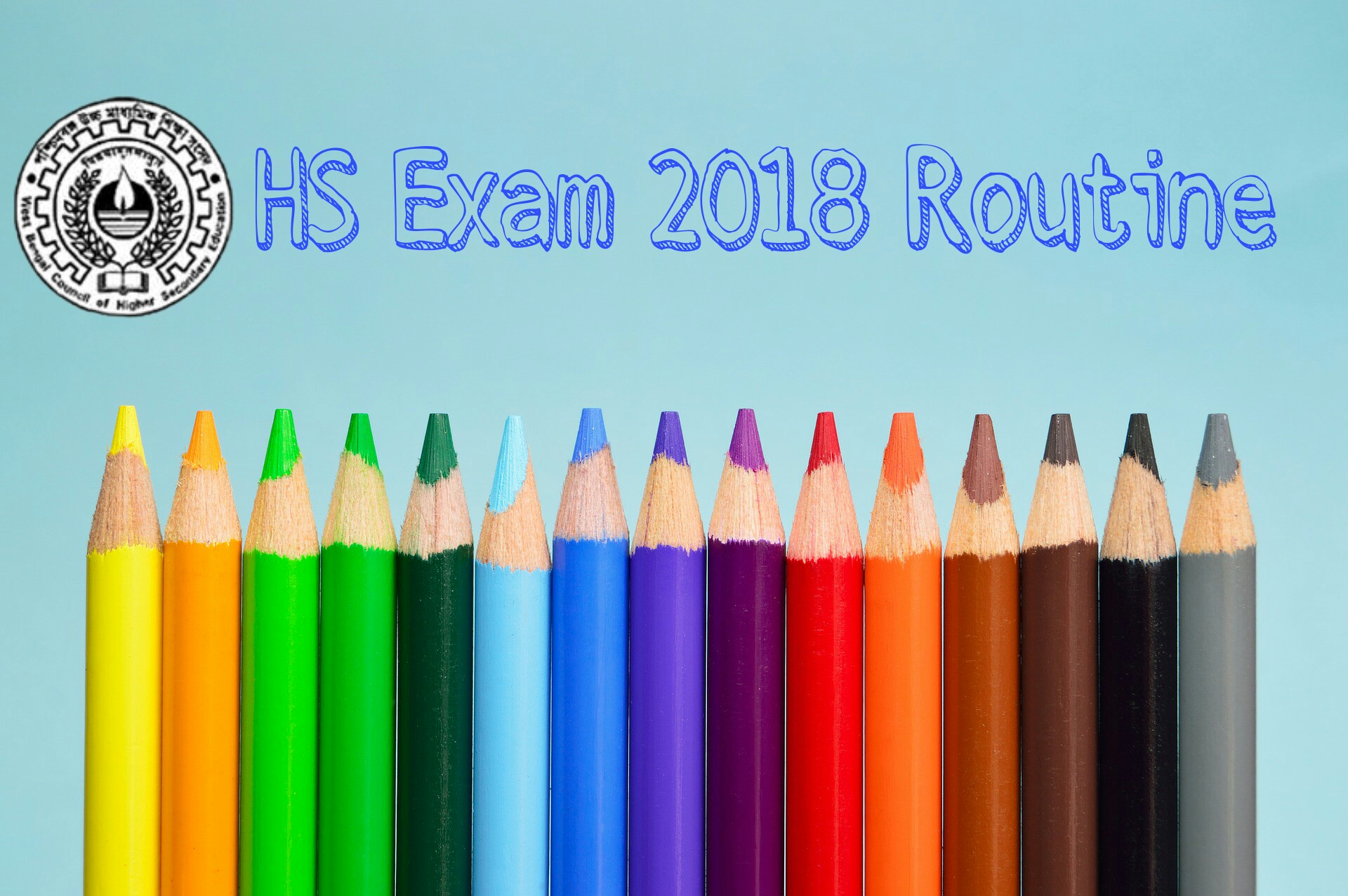 Higher Secondary Exam Routine Download