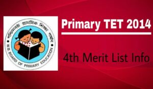 Primary TET 2014 Merit List
