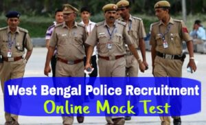 West Bengal Police Recruitment Mock Test