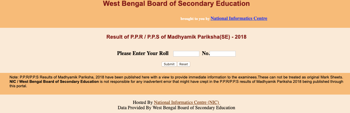 Madhyamik Review and Scrutiny Result Online check.