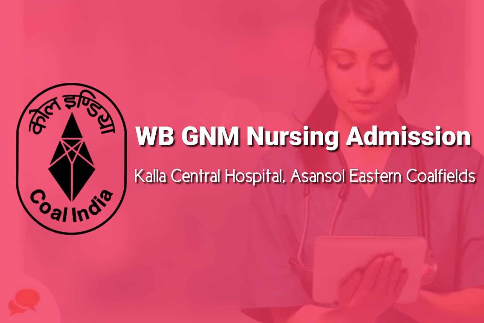 WB GNM Admission 2020 Kalla Central Hospital Asansol Eastern Coalfields 1
