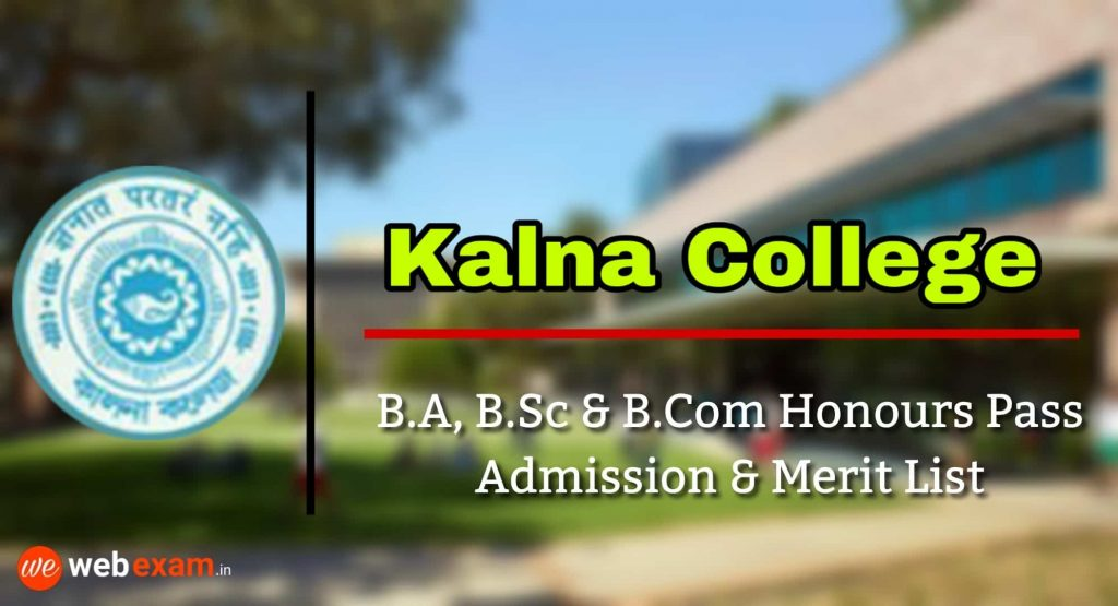 Kalna College Admission & Merit List Download