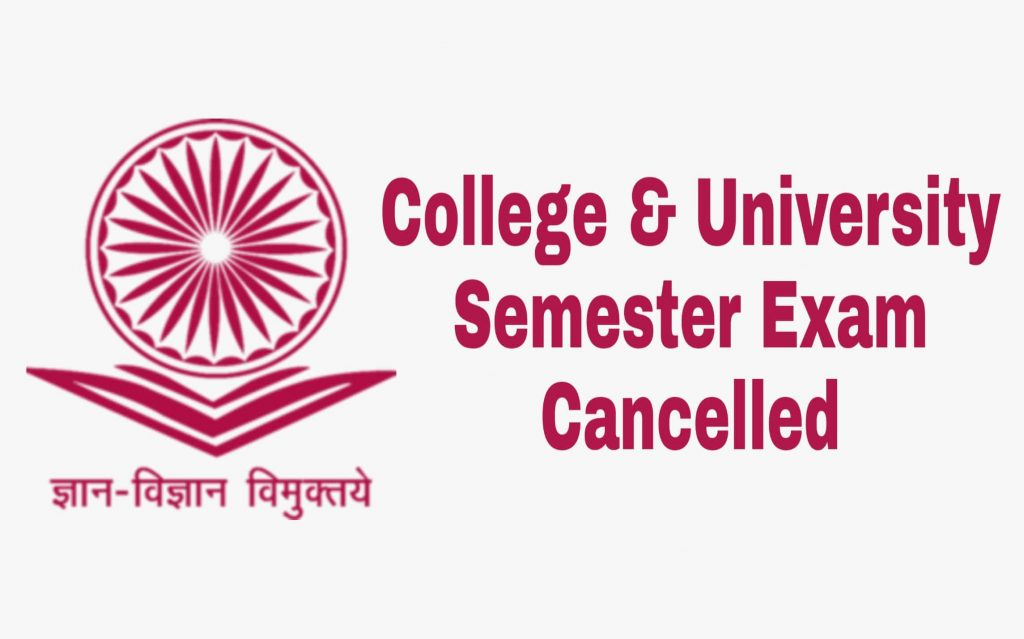 West Bengal College University Semester Exams Cancelled